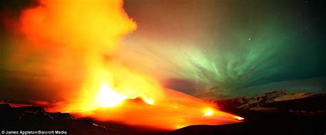 the light of northern fires earth solar wind and northern lights and molten
