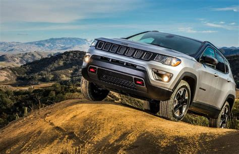 Jeep Compass Road Capability Jeep Compass Trailhawk Production Starts In India