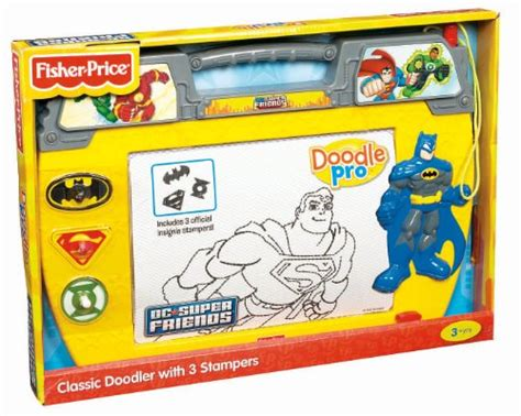 fisher price drawing fisher price doodle pro superfriends toys games toys art