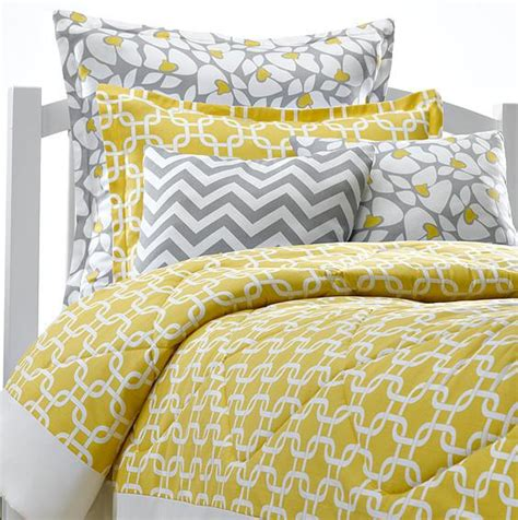 anya 8 floral print bedding set gray yellow yellow bed comforter yellow metro bedding american