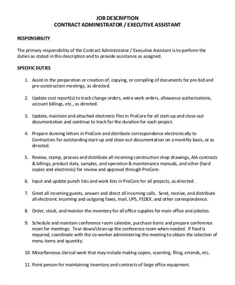 Position Summary Essential Duties And Responsibilities Complete Pdf Library Essential Functions Description Template