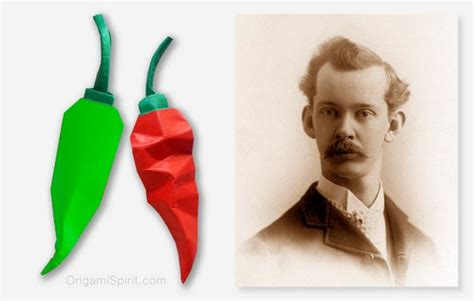 wilbur scoville make an origami pepper in celebration wilbur scoville