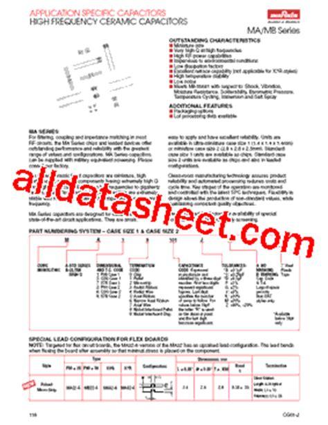 murata capacitors datasheet ma7812x datasheet pdf murata manufacturing co ltd