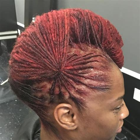 updo hairstyles for with locs hair pinwheel loc updo dreads locs dreadlocks pinterest