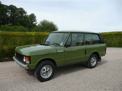 original range rover interior 1979 original 3 door range rover with options pack sold