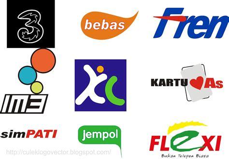 culek design logo sellular tekomsel indosat xl fren
