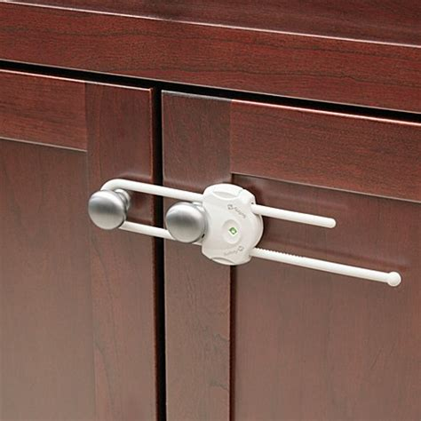 kitchen cabinet door locks buy safety 1st 174 securetech cabinet lock from bed bath