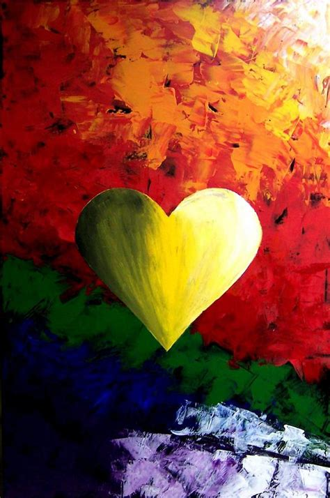 valentines day painting colorful s day by teo alfonso