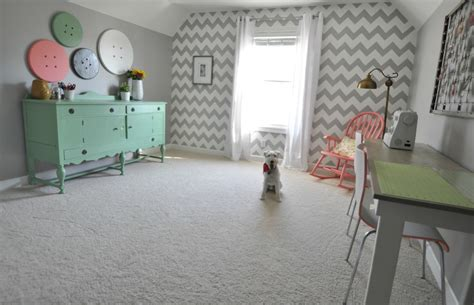 how to decorate a craft room craft room tour decor and the
