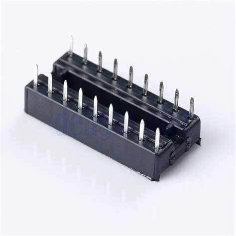what is an integrated circuit socket 10x 18 pin dip 18 ic socket for integrated circuit chip operational lifier dg ebay