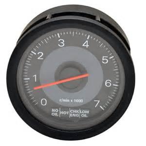 faria tc3007d omc 177080 johnson evinrude black outboard marine boat tachometer w systems
