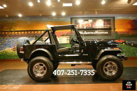 1982 Jeep Wrangler For Sale Jeep Wrangler 4 2 Liter 1982 For Sale Classicdigest