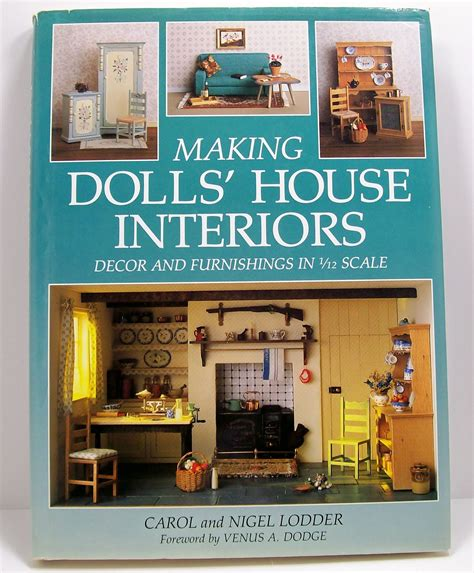 doll house author dales dreams dollhouse miniatures 1 12th or one inch scale favorite dollhouse books