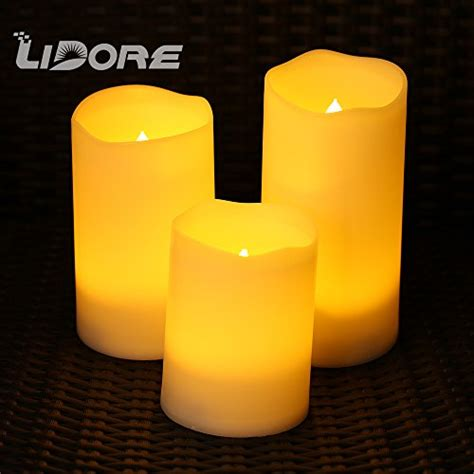 24 48 Pack Flameless Votive Candles Battery Operated Lidore 3 Pack Unscented Flameless Votive Candles Warm White Melted Edge Battery Operated