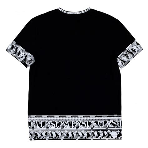 Sleeve Printed Shirt shop for versace black t shirt with sleeves