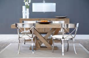 Dining Table Small Space Sunpan Madero Dining Table Big Style For Small Spaces