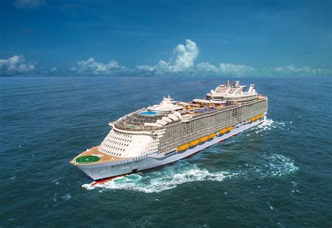 royal caribbeans newest ship royal caribbean sets sail for new adventures with
