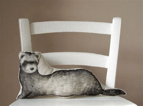 Animal Shaped Pillows by Ferret Decorative Pillow Ferret Animal Shaped Throw By Mosmea