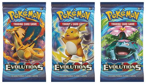 Buy Eb Games Gift Card Online - pokemon trading card game xy evolutions booster pack eb games australia