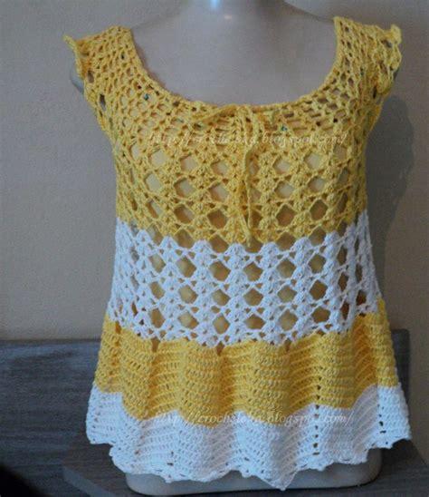 blusa vermelha de crochet crochet clothing pinterest blusa em croch 234 com ponto zig zag moda croch 234