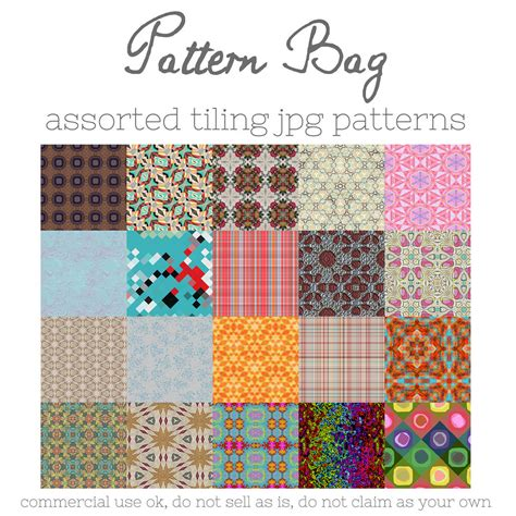 artist bag pattern pattern bag by hggraphicdesigns on deviantart