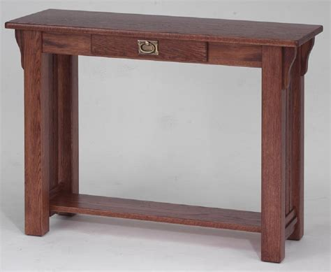 mission oak sofa table solid oak sofa table mission style infosofa co