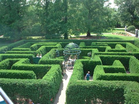 Garden Of Missouri File Hedge Maze St Louis Botanical Gardens St Louis