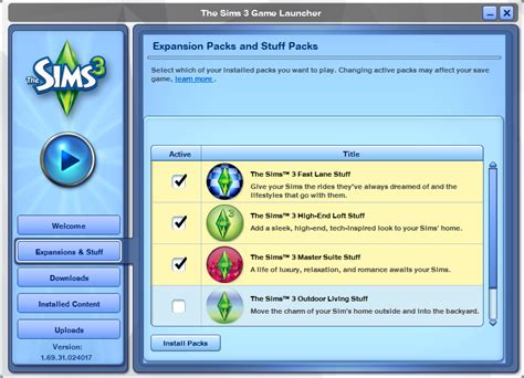 how to uninstall sims 3 seasons the sims 3 the sims 3 expansion and stuff pack manager