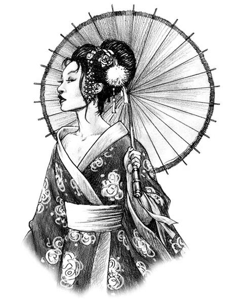 geisha tattoo design geisha flashes ideatattoo