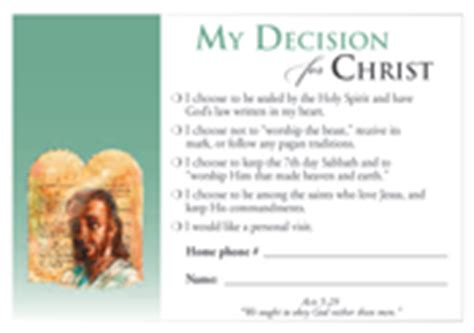 decision cards for salvation template decision