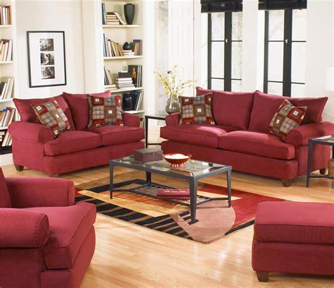 red couches living room interesting living room decoration with red living room