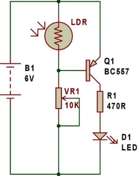 membuat lu led sensor cahaya cara membuat rangkaian sensor cahaya sederhana menggunakan