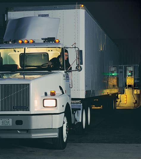 loading dock lights green dock light communication system operates safely