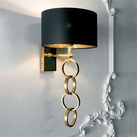 gold wall lights modern black and gold wall l juliettes interiors