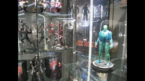 secret base hot toys iron man display july youtube