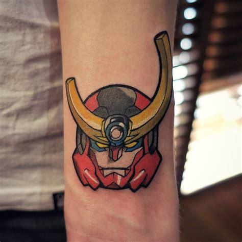 gurren lagann tattoo gurren lagann more mecha s tattoos j aime