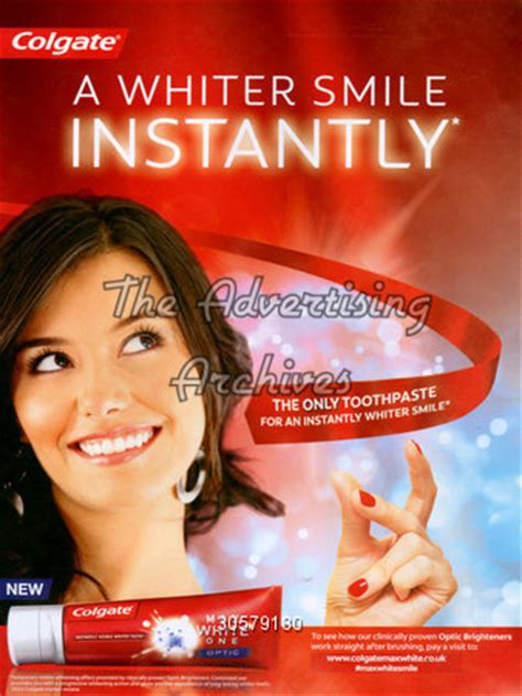 ad courtesy of e news 2010 photos of anistons lolavie promotion the advertising archives magazine advert colgate 2010s