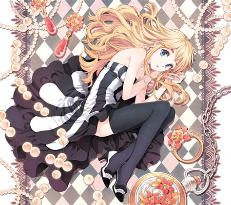 anime image cute blonde anime girl anime paradise picture