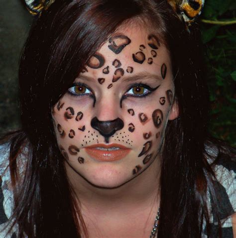 leopard makeup tutorial halloween makeup tutorial leopard