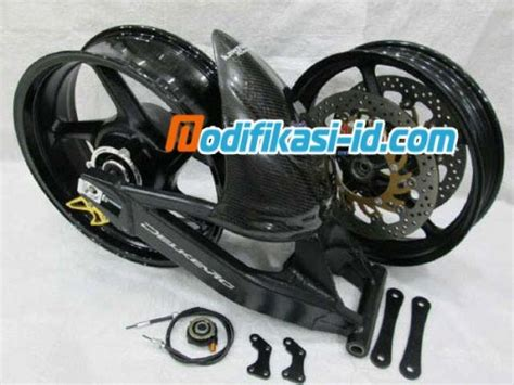 swing arm delkevic 16 velg lebar swing arm ninja 250r karbu set delkevic