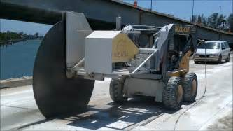 Floor Grinding Machine by Giant Saw 91 Inch Diamond Blade Sawing The Pinellas Bayway