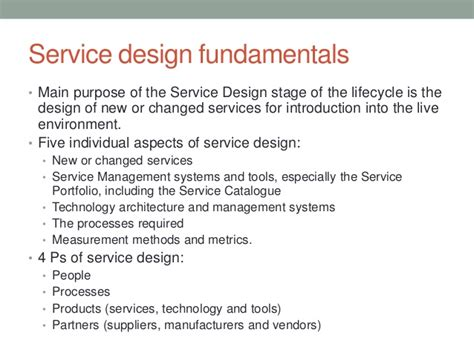 itil service design document template image collections