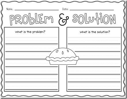 problem and solution reading worksheets problem and solution worksheets 2nd grade reading 4th