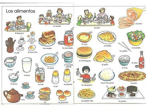 imagenes de comidas en ingles y español teach another language to kids t a l k davis ca los