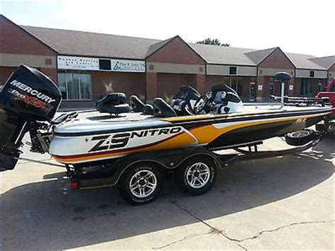 nitro bass boat rigging 2010 z 9 nitro bass boat used nitro z9 2010 z 9 for sale
