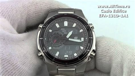 Casio Edifice Efa 131d 1a1 casio edifice efa 131d 1a1