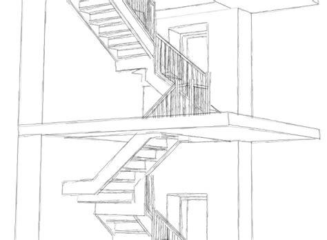 progetto scala interna scale e balconi