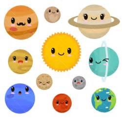 Spaceship Rug Kawaii Planets Clipart Cute Planets Clipart Solar