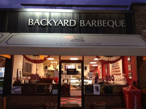 backyard barbeque a great neighborhood bistro in the