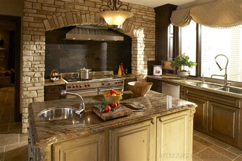 Stone Kitchens Design | hood kitchen range stone kitchen design photos